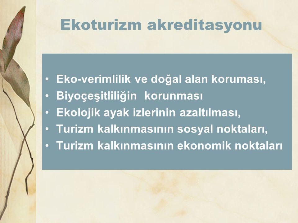 Ekoturizm akreditasyonu