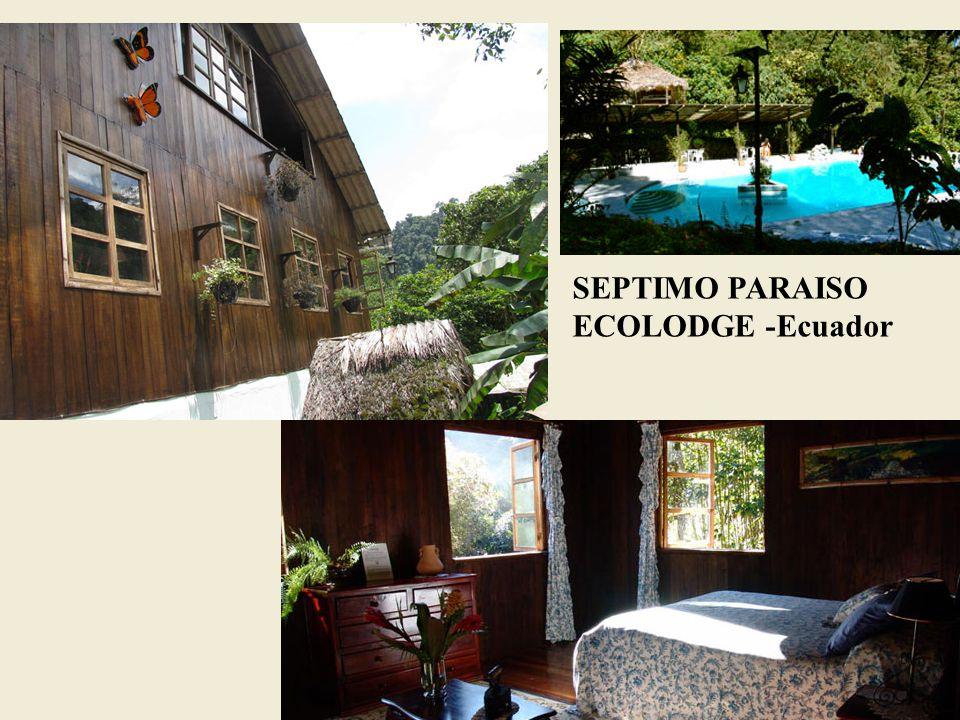 SEPTIMO PARAISO ECOLODGE -Ecuador