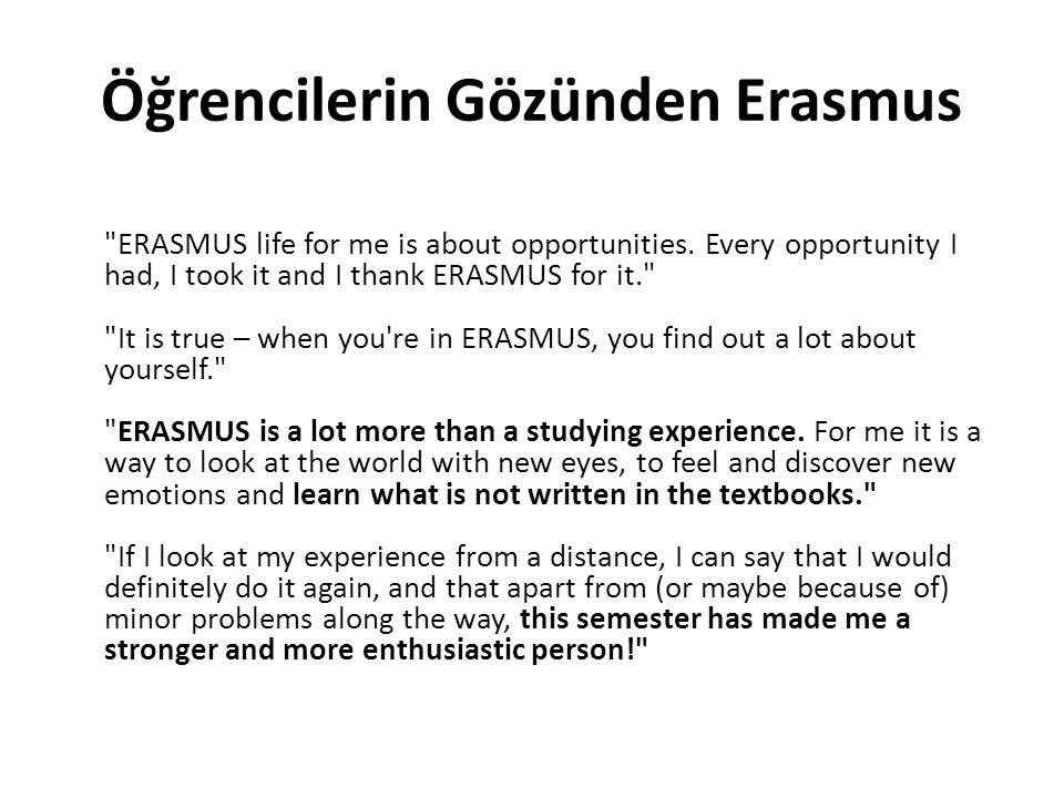 Öğrencilerin Gözünden Erasmus