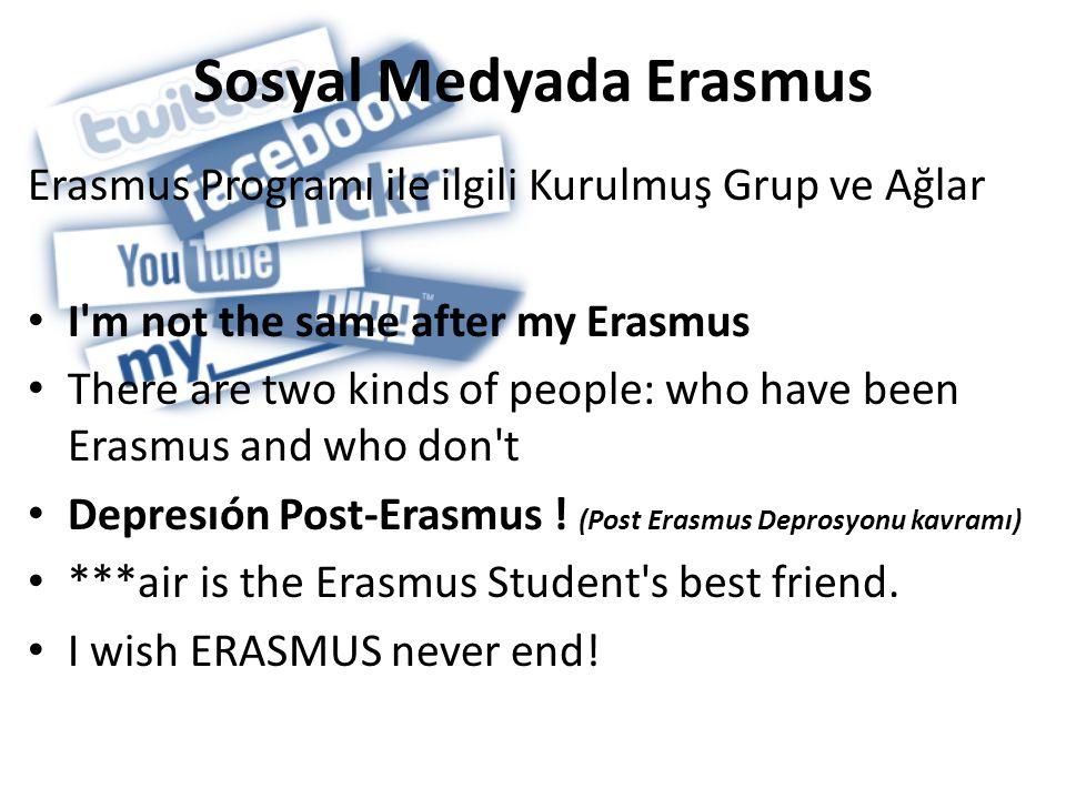 Sosyal Medyada Erasmus