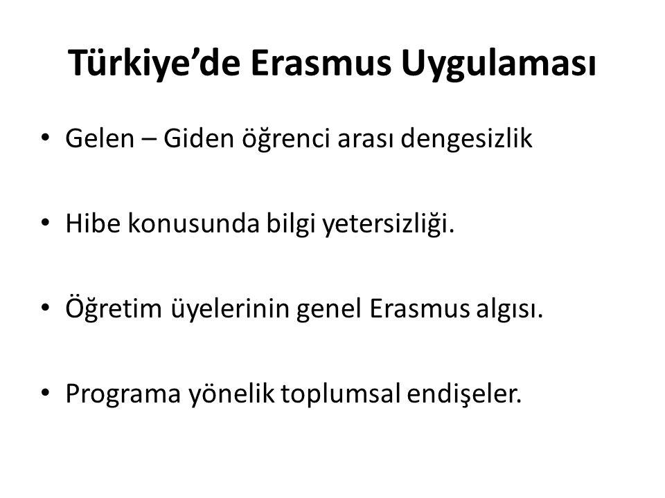 Türkiye'de Erasmus Uygulaması