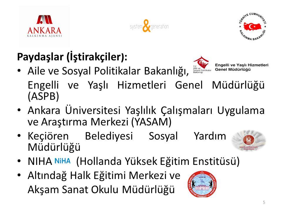 Paydaşlar (İştirakçiler):