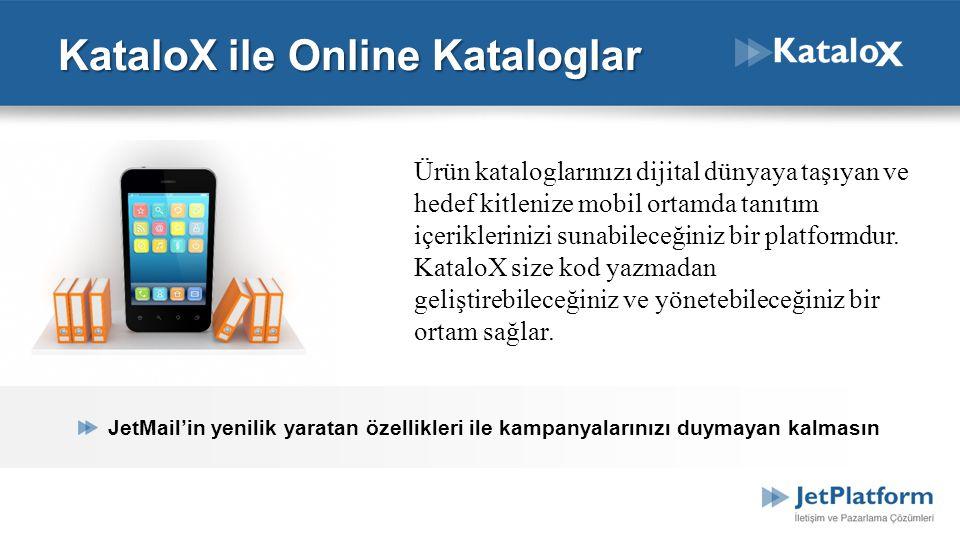 KataloX ile Online Kataloglar