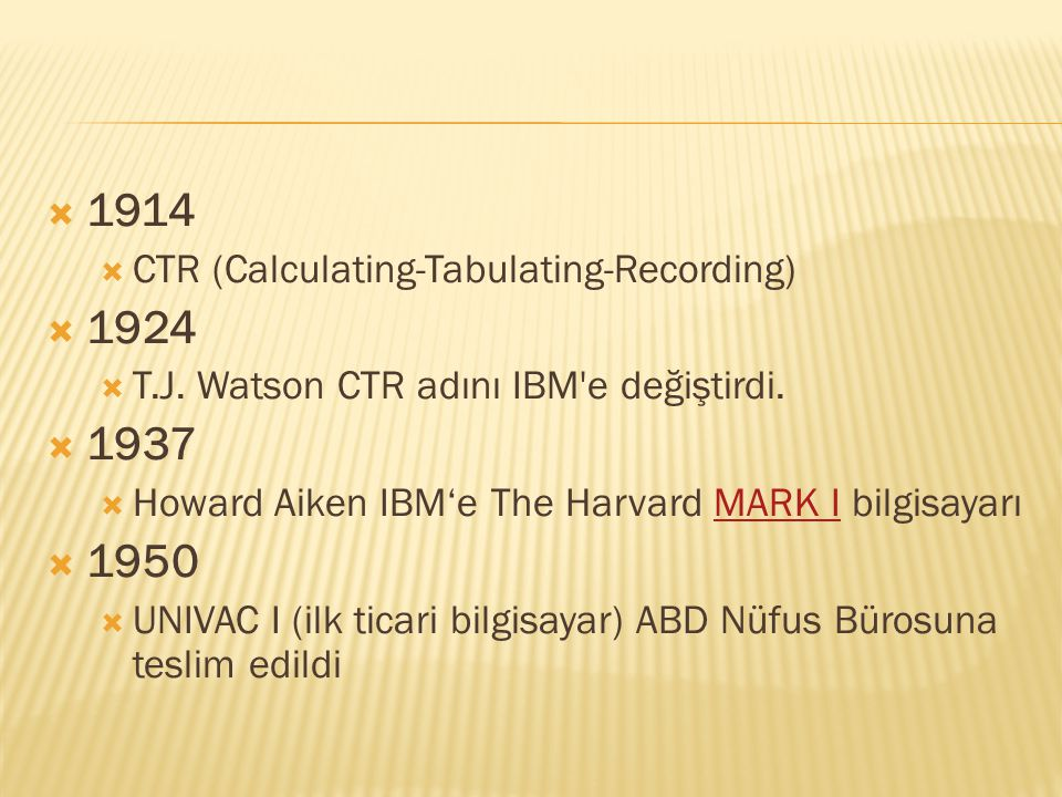 CTR (Calculating-Tabulating-Recording)
