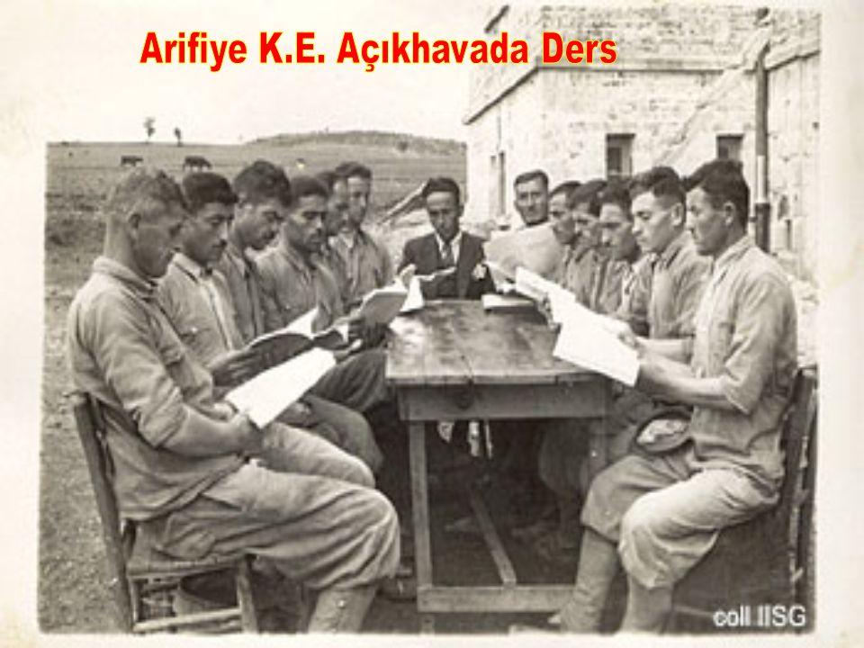 Arifiye K.E. Açıkhavada Ders