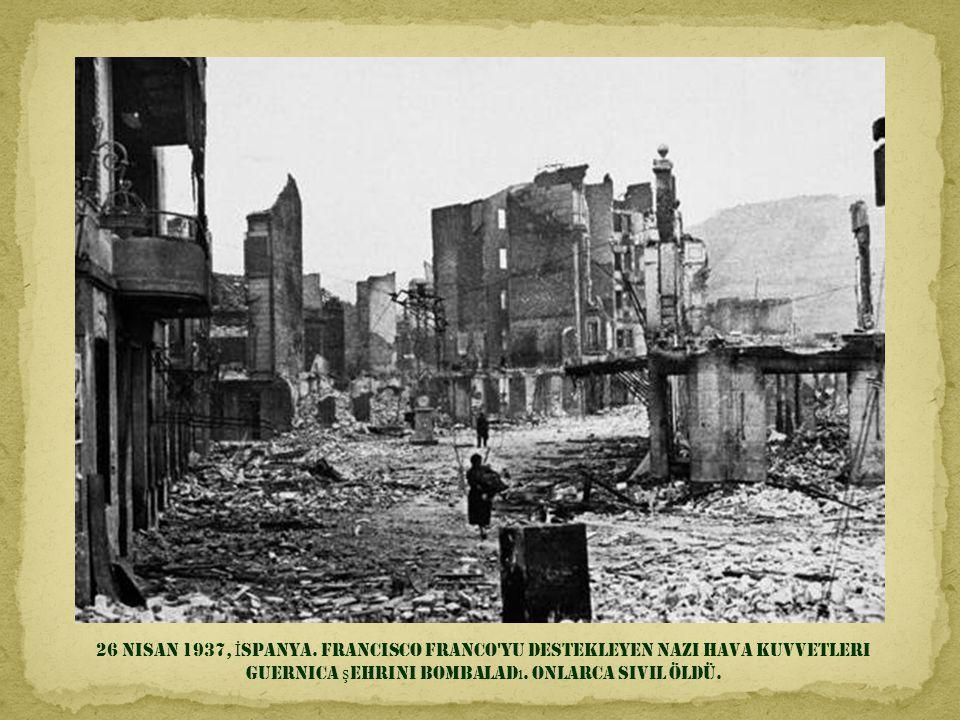26 Nisan 1937, İspanya.