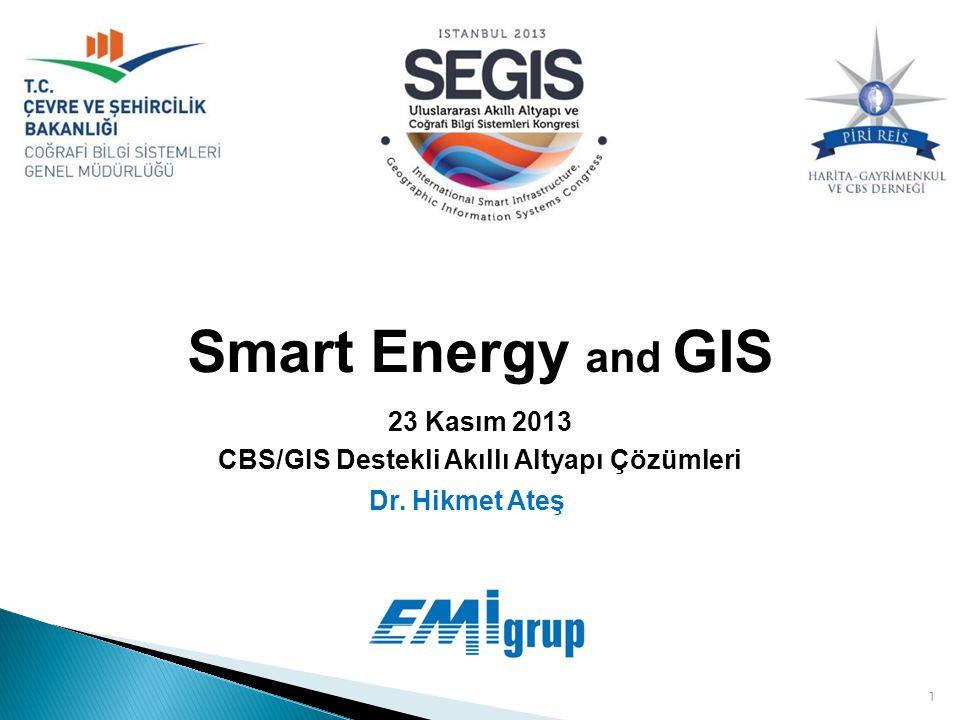 CBS/GIS Destekli Akıllı Altyapı Çözümleri