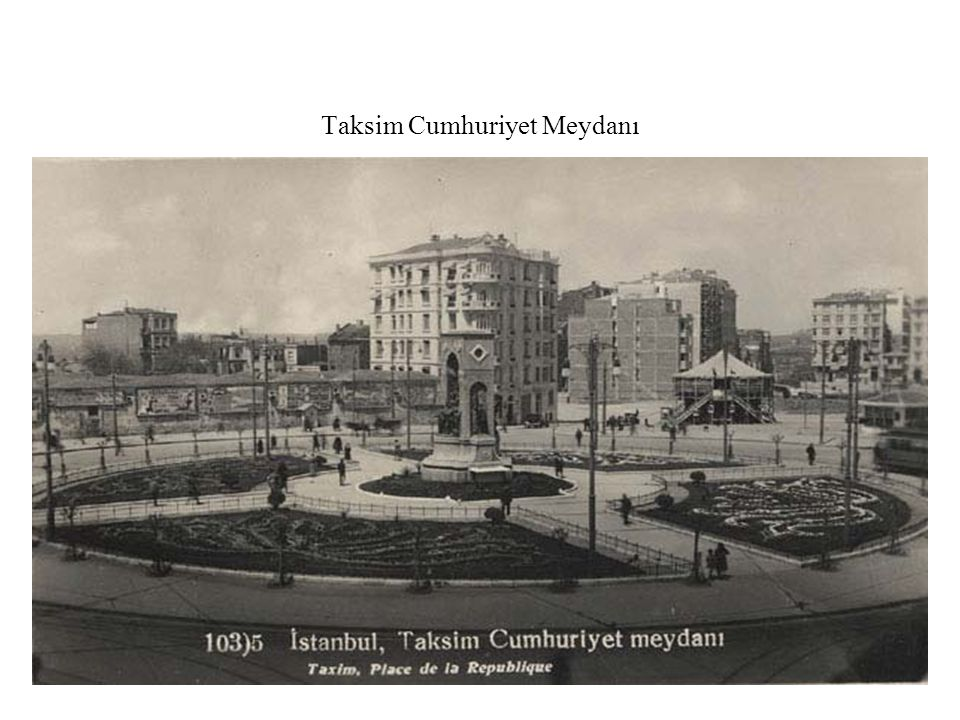 Taksim Cumhuriyet Meydanı