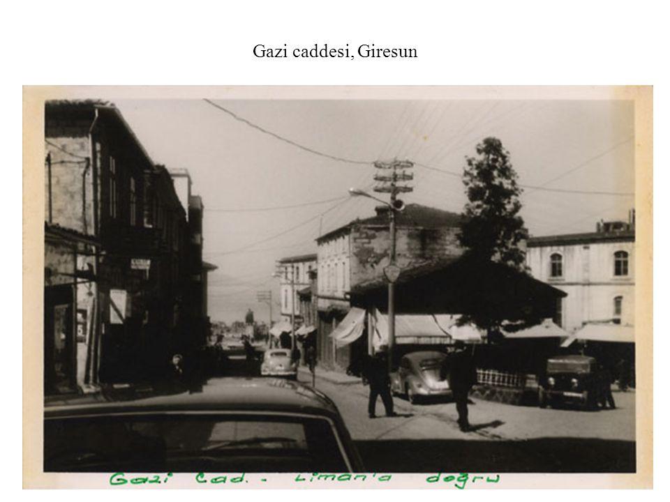 Gazi caddesi, Giresun