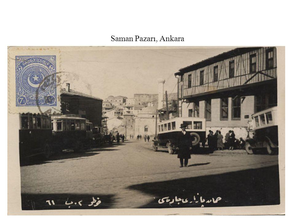 Saman Pazarı, Ankara