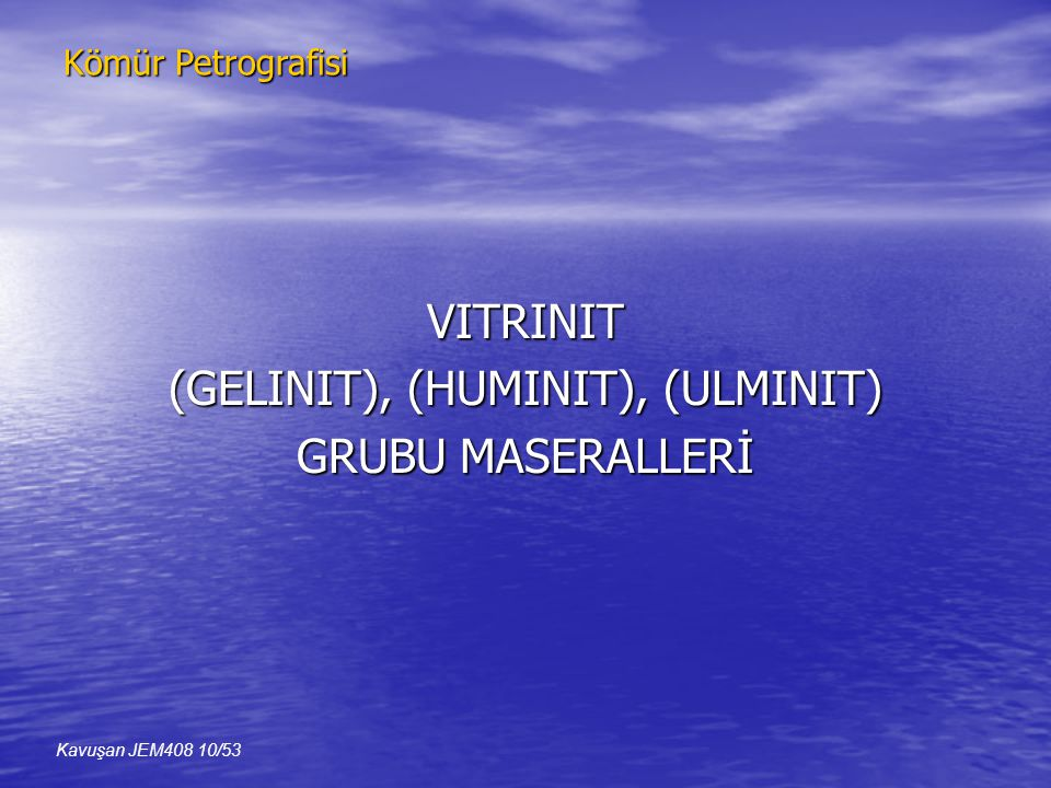 (GELINIT), (HUMINIT), (ULMINIT)