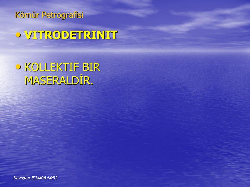 KOLLEKTIF BIR MASERALDİR.
