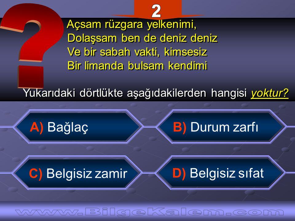 2 www.BilgeKalem.com A) Bağlaç