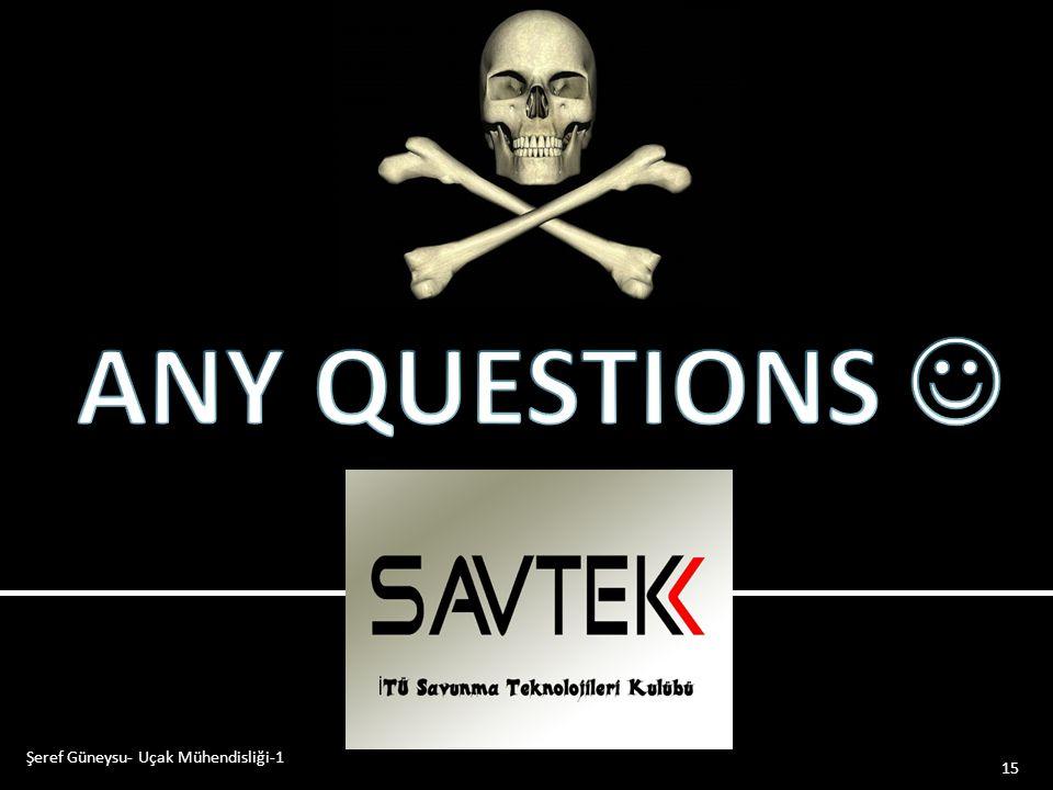 03.04.2017 ANY QUESTIONS  Şeref Güneysu- Uçak Mühendisliği-1