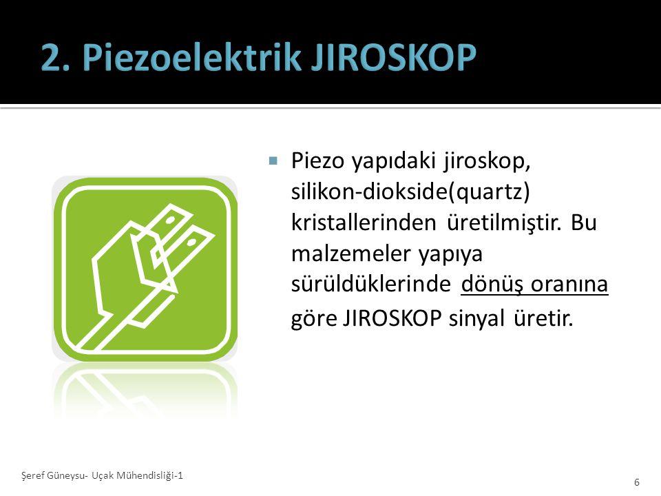 2. Piezoelektrik JIROSKOP