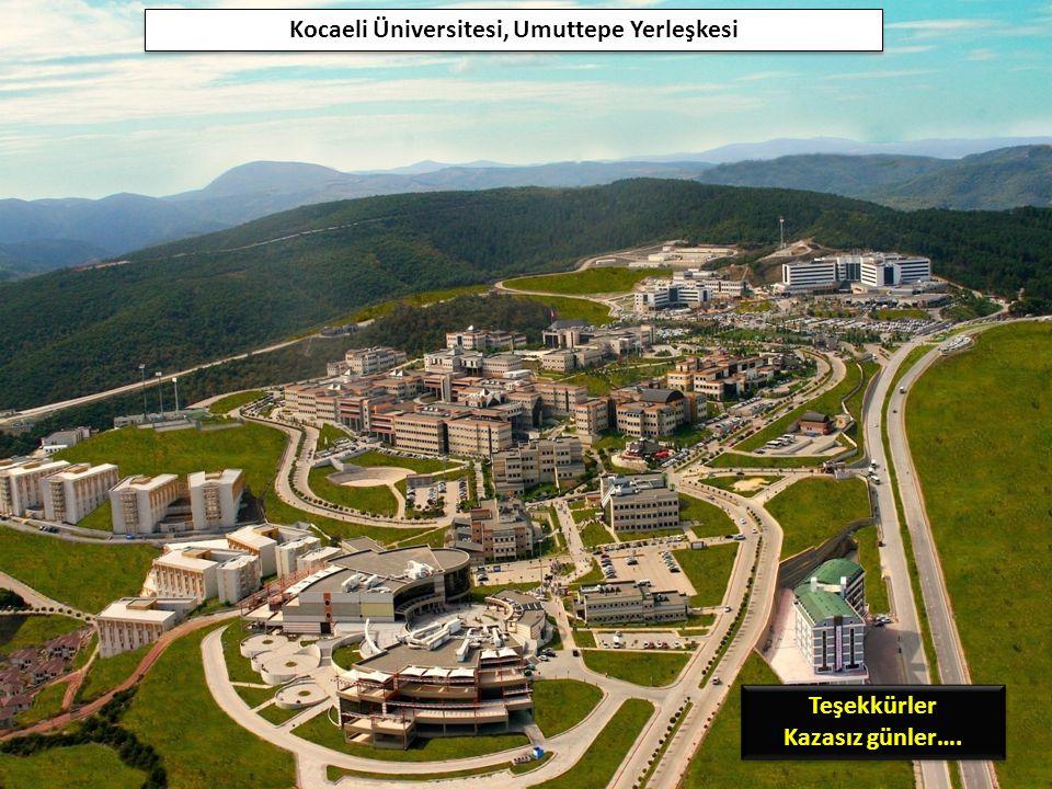 Kocaeli Üniversitesi, Umuttepe Yerleşkesi