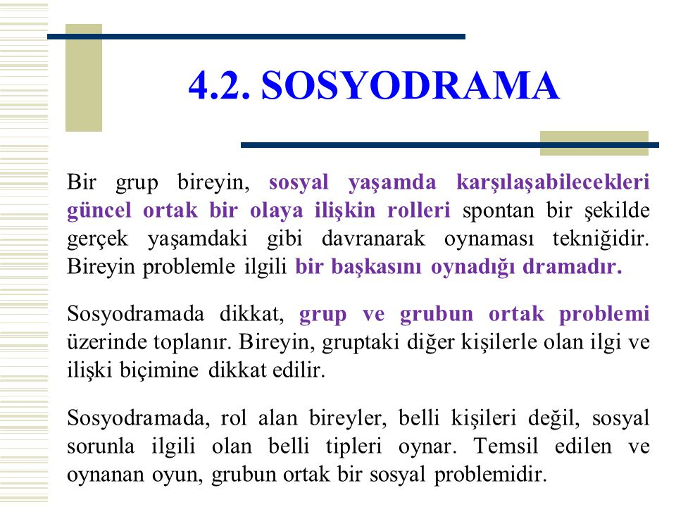 4.2. SOSYODRAMA