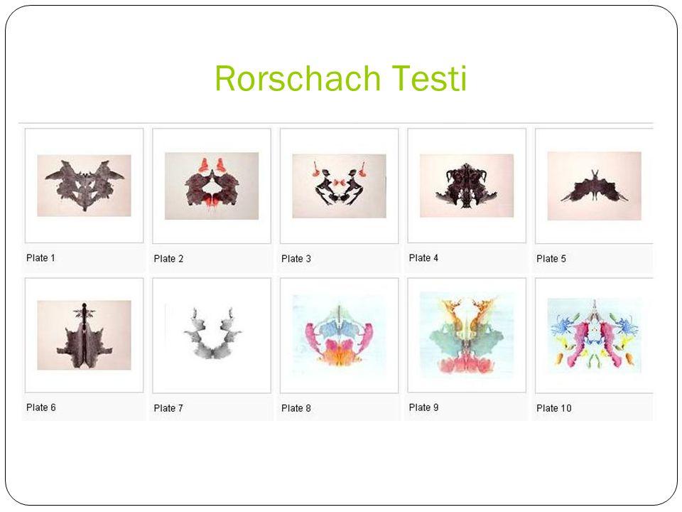 Rorschach Testi