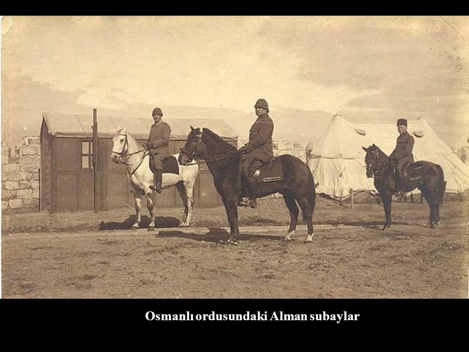 Osmanlı ordusundaki Alman subaylar
