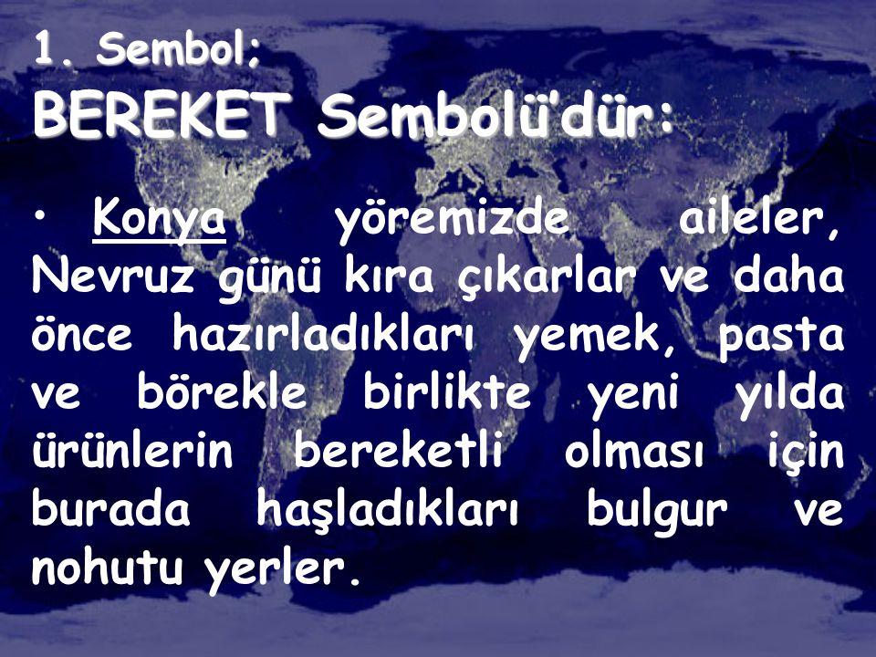 1. Sembol; BEREKET Sembolü'dür: