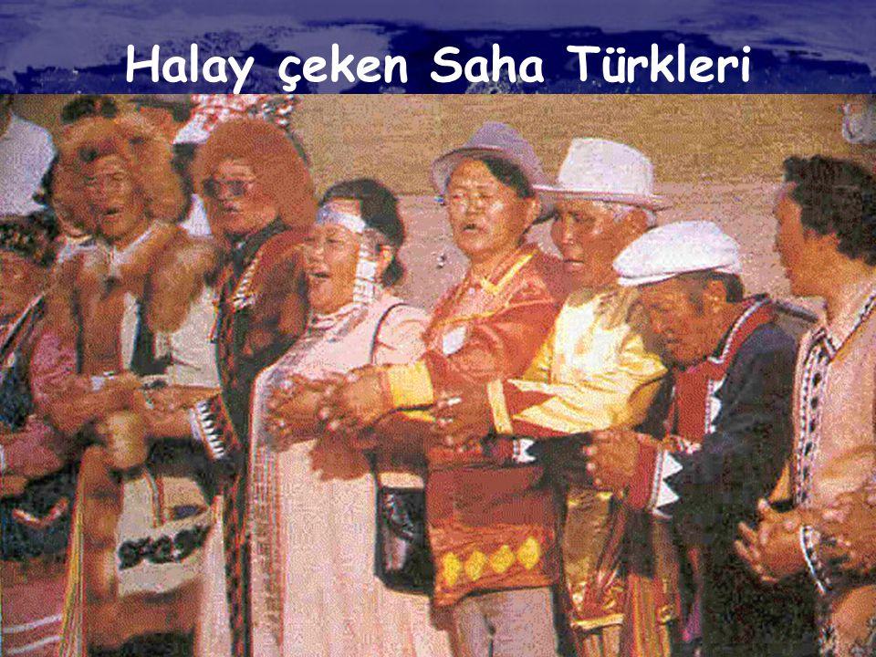 Halay çeken Saha Türkleri