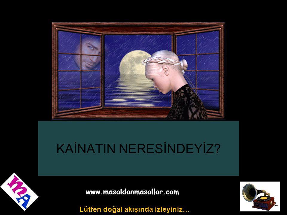 KAİNATIN NERESİNDEYİZ