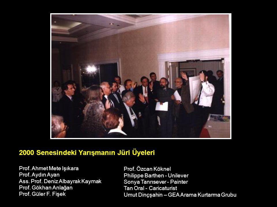 2000 Senesindeki Yarışmanın Jüri Üyeleri