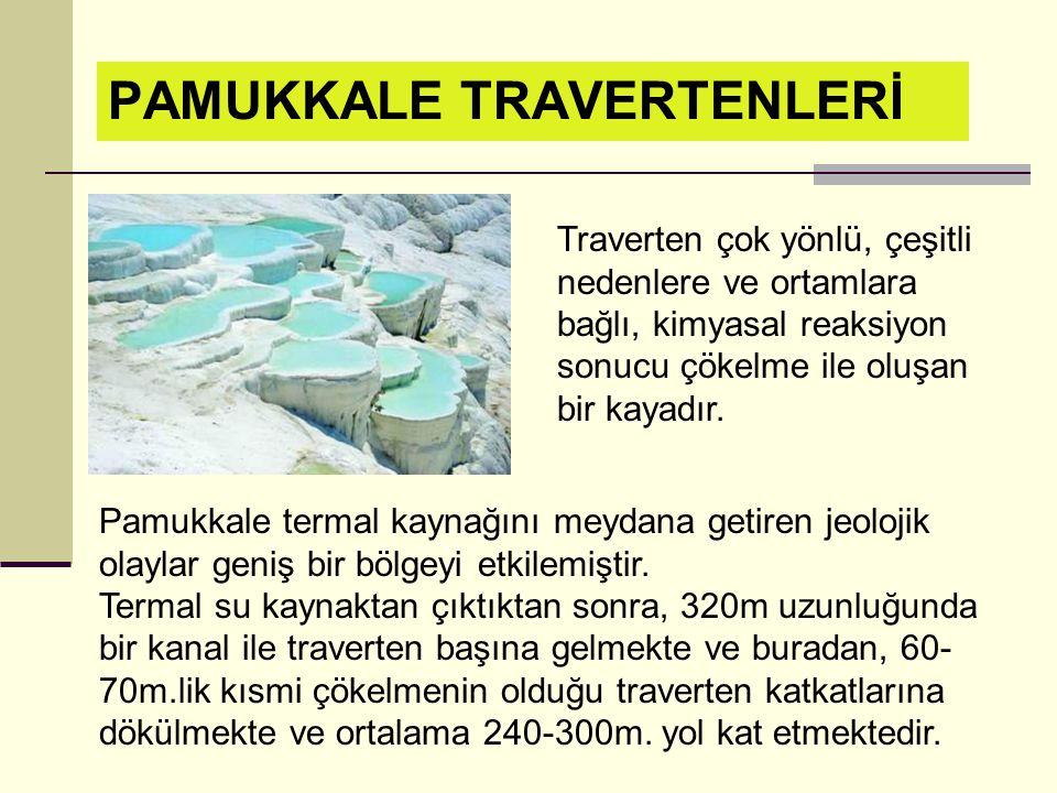 PAMUKKALE TRAVERTENLERİ