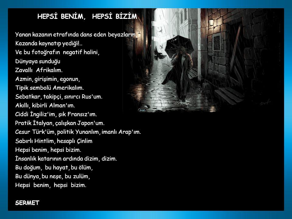 HEPSİ BENİM, HEPSİ BİZİM