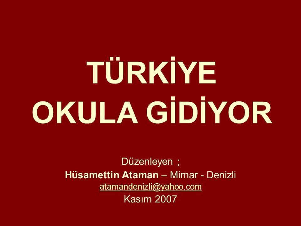 Hüsamettin Ataman – Mimar - Denizli