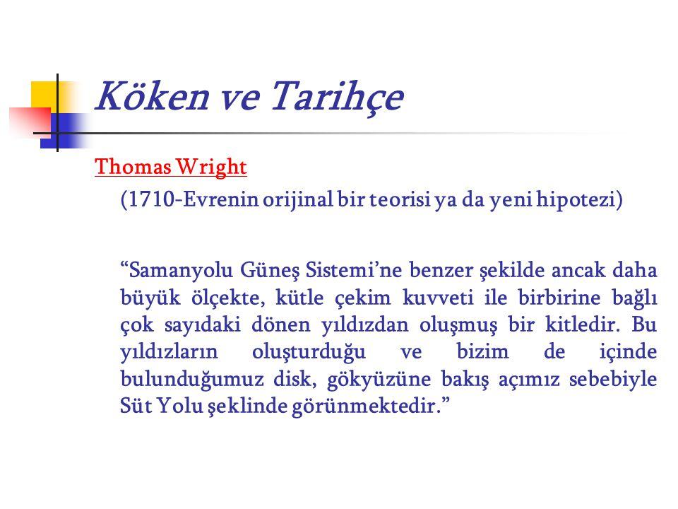 Köken ve Tarihçe Thomas Wright