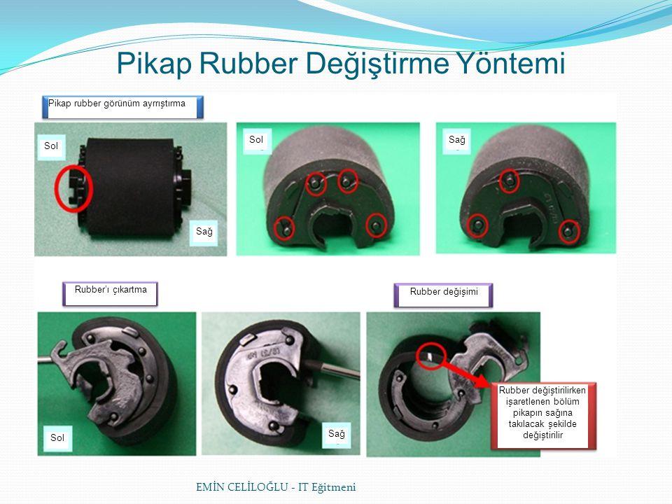 Pikap Rubber Değiştirme Yöntemi