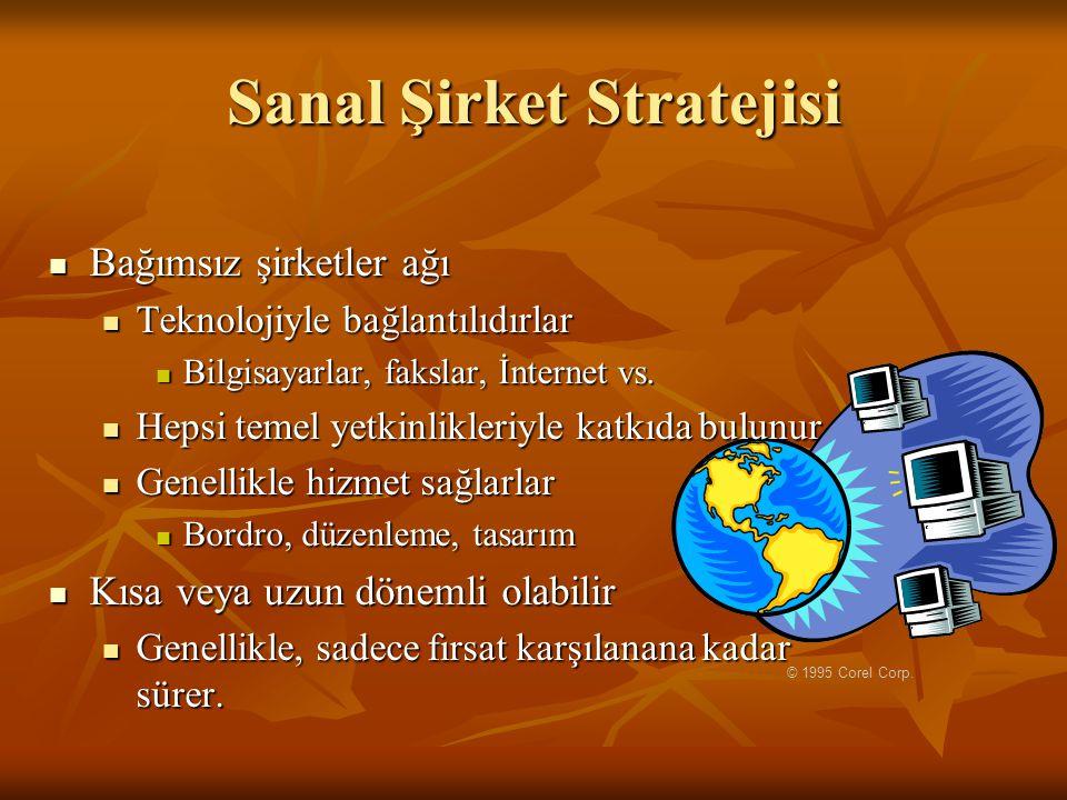 Sanal Şirket Stratejisi