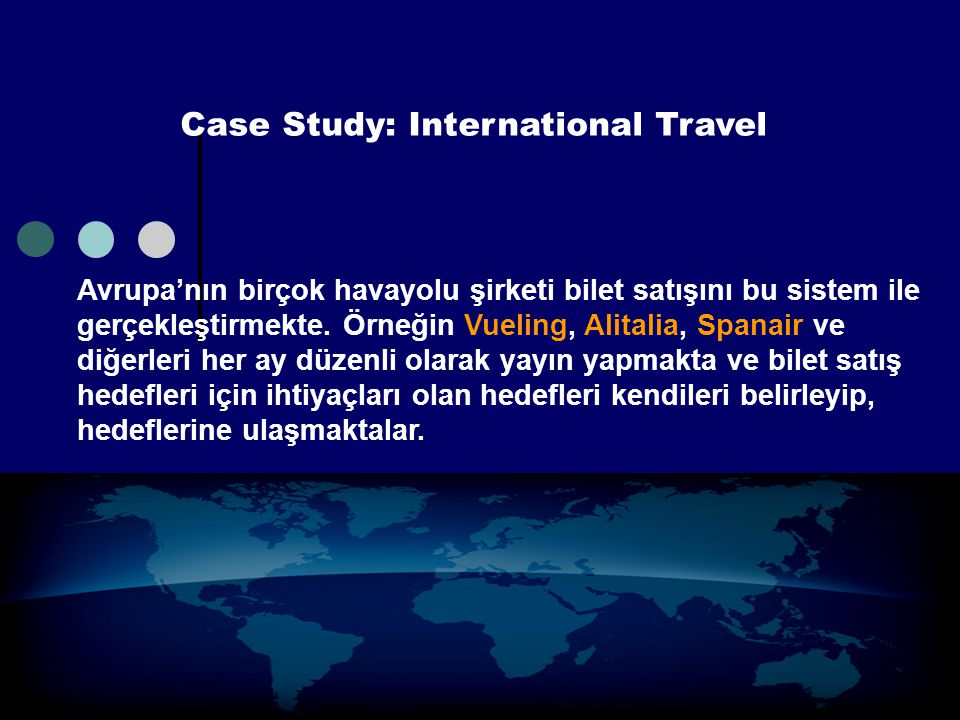 Case Study: International Travel