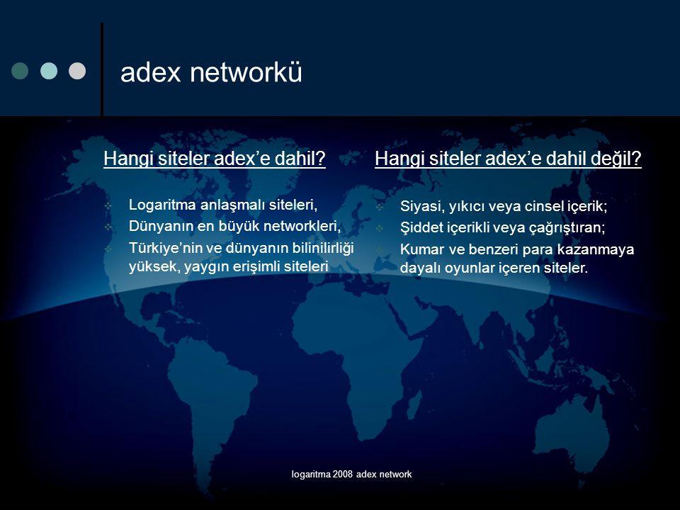 logaritma 2008 adex network