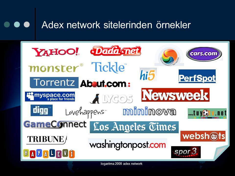 Adex network sitelerinden örnekler