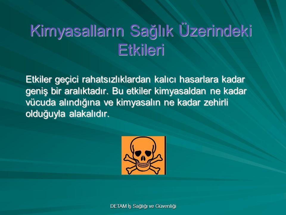 Kimyasalların Sağlık Üzerindeki Etkileri