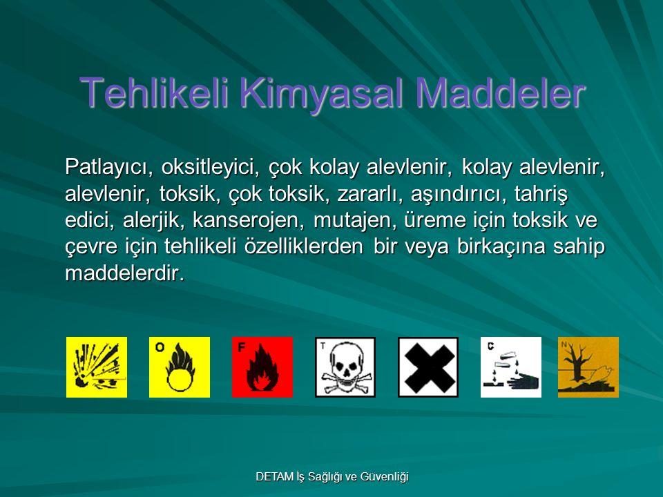 Tehlikeli Kimyasal Maddeler