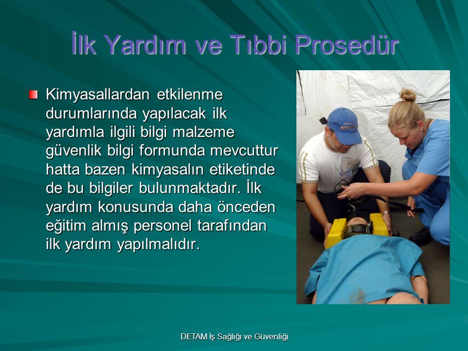 İlk Yardım ve Tıbbi Prosedür