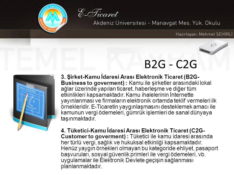 B2G - C2G