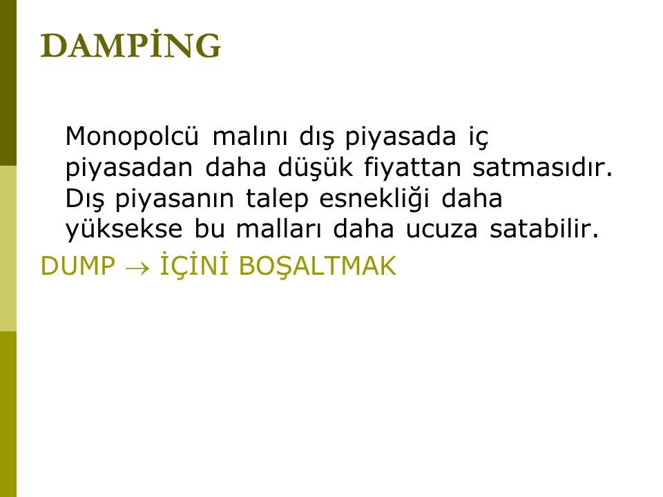 DAMPİNG
