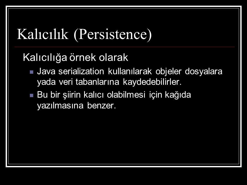 Kalıcılık (Persistence)