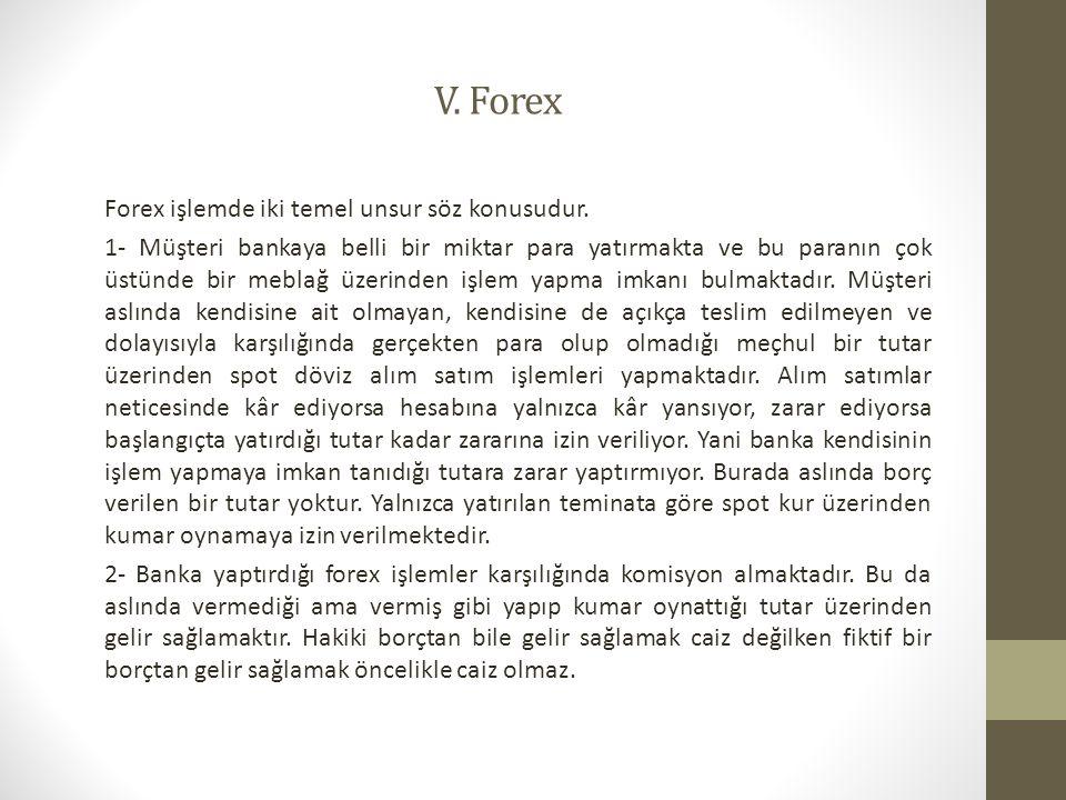 V. Forex