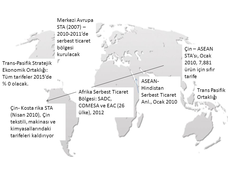 Merkezi Avrupa STA (2007) – 2010-2011'de serbest ticaret bölgesi kurulacak