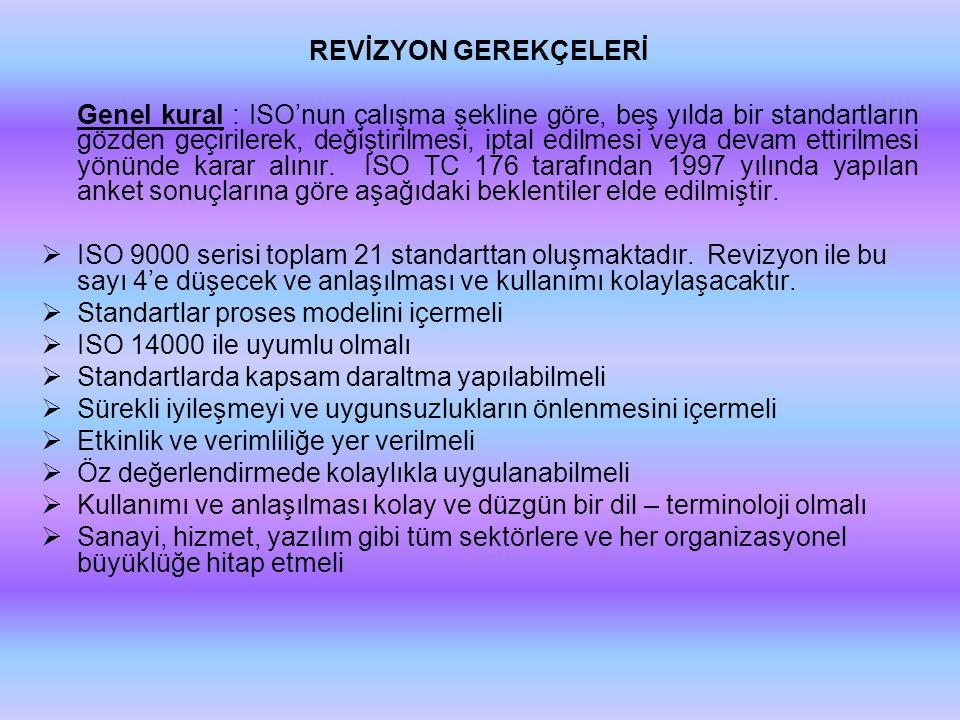 REVİZYON GEREKÇELERİ
