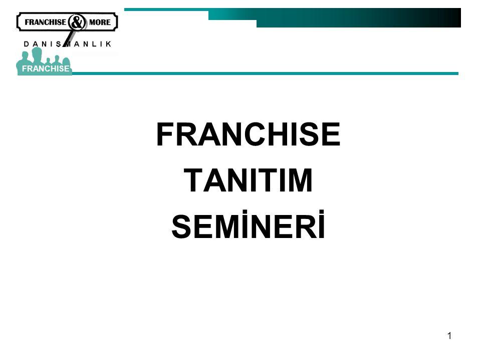 FRANCHISE TANITIM SEMİNERİ