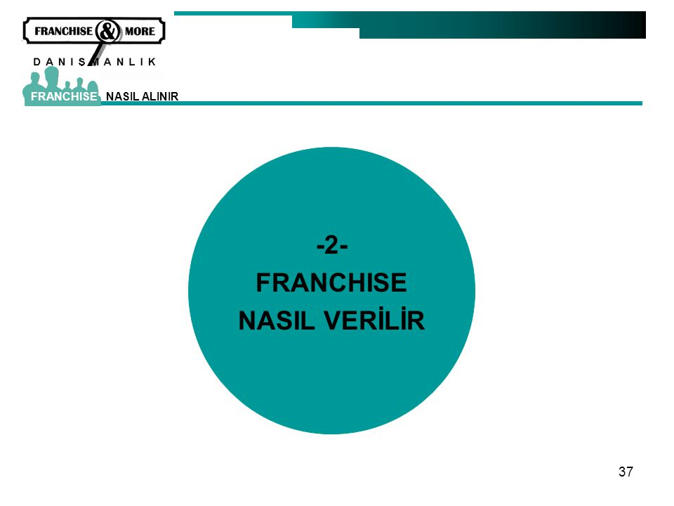 -2- FRANCHISE NASIL VERİLİR