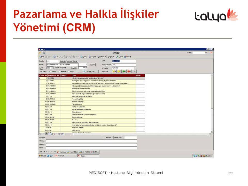 Pazarlama ve Halkla İlişkiler Yönetimi (CRM)