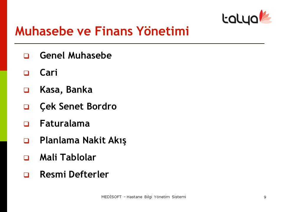 Muhasebe ve Finans Yönetimi