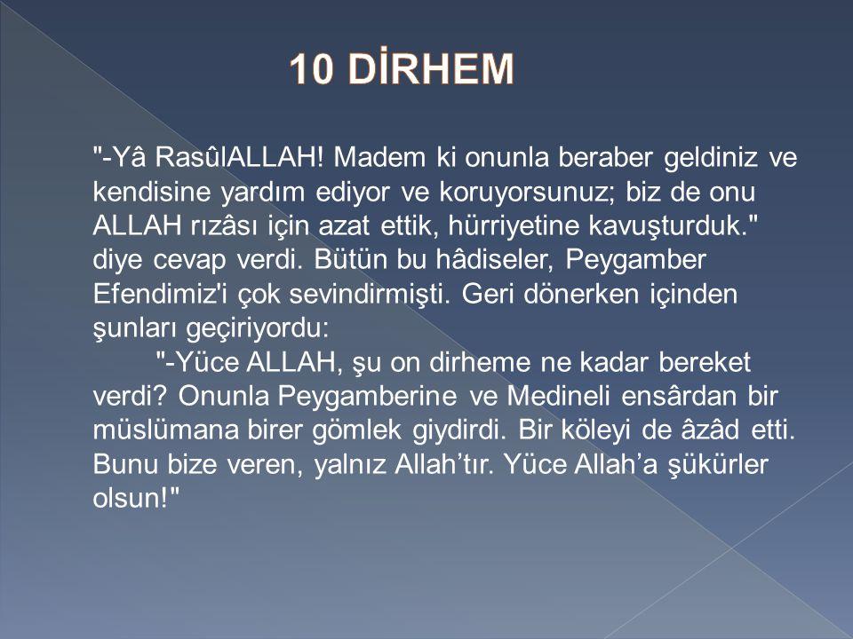 10 DİRHEM